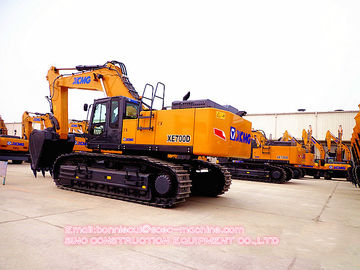 70 Ton 4.6 CBM Large Mining Crawler Excavator With 4.6m3 Bucket Capacity  XE700D