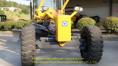 Mini Road Grading Equipment 135hp Motor Grader GR135C With Spare Parts